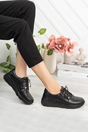 Hakiki Deri Günlük Kadın Ayakkabı Dc0814
