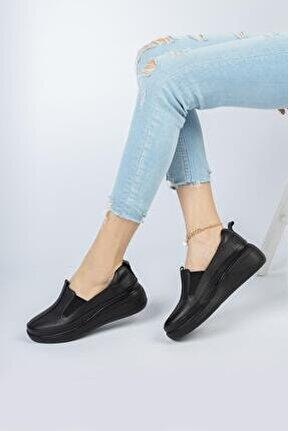 Hakiki Deri Günlük Kadın Ayakkabı Dc3000