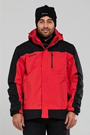 Elbruz 3in1 Erkek Mont Kırmızı