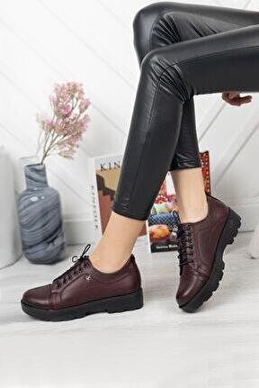 Hakiki Deri Günlük Kadın Ayakkabı Dc0851