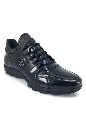 14183 Günlük Erkek Ayakkabı-Siyah Açma
