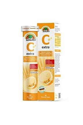 Vitamin C Extra 20 Efervesan Tablet