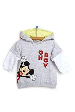 Mickey Mouse Kapüşonlu Sweatshirt