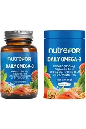 Daily Omega 3 30 Kapsül