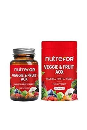 Veggie Fruit Aox 30 Kapsül