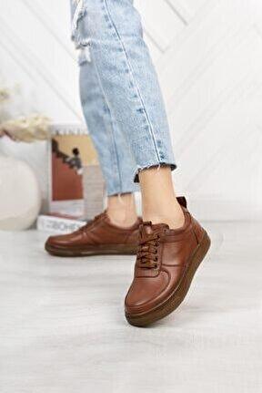 Hakiki Deri Günlük Kadın Ayakkabı Dc2061
