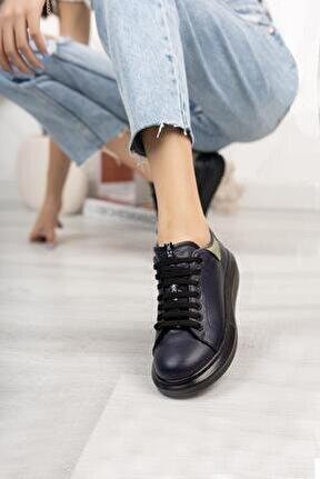 Hakiki Deri Kadın Günlük Ayakkabı Dc9612