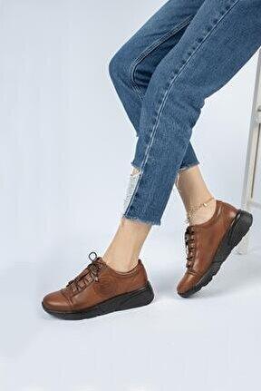 Hakiki Deri Günlük Kadın Ayakkabı Dc1008