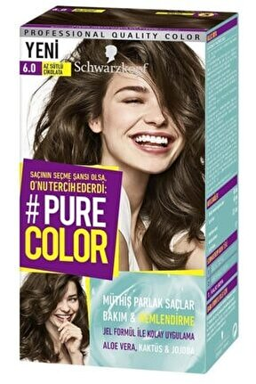 Pure Color Saç Boyası - 6.0 Az Sütlü Çikolata