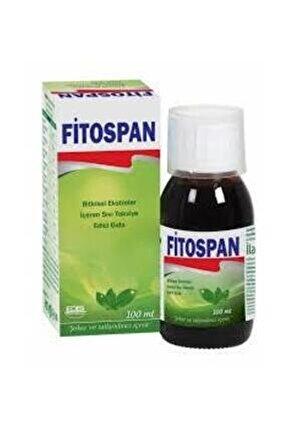 Fitospan Bitkisel Ekstreler Içeren Takviye Edici Gıda 100 ml