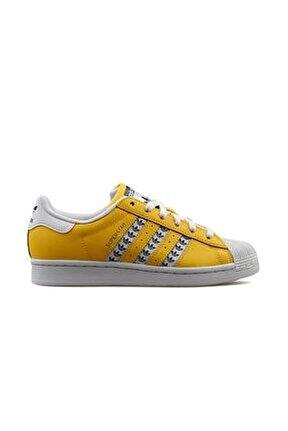 Unisex Sarı Günlük Ayakkabı Superstar Fw9210
