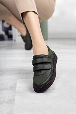 Hakiki Deri Kadın Günlük Ayakkabı Dc3350
