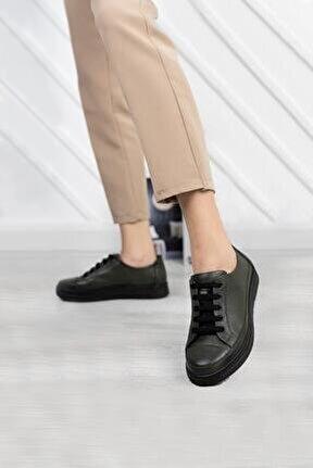 Deri Günlük Kadın Ayakkabı Dc2062