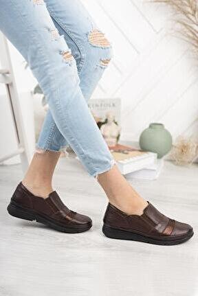 Hakiki Deri Günlük Kadın Ayakkabı Dc9610