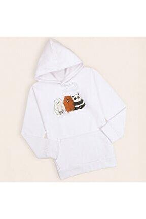 Beyaz Panda Sweatshirt