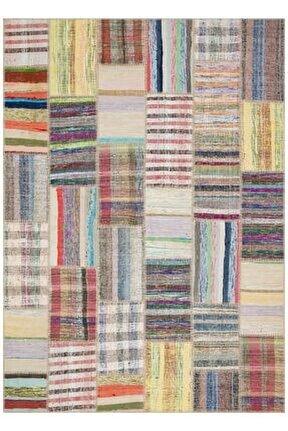Multı Renkçizgili El Dokuma Kilim-170x240
