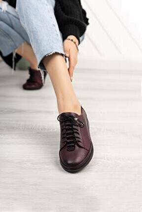Hakiki Deri Günlük Kadın Ayakkabı Dc9608