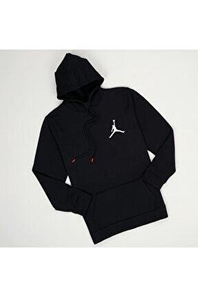 Kapşonlu Siyah Jordan Sweat
