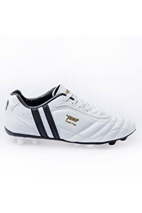 Beyaz Erkek Halı Saha Ayakkabısı 190 13256G