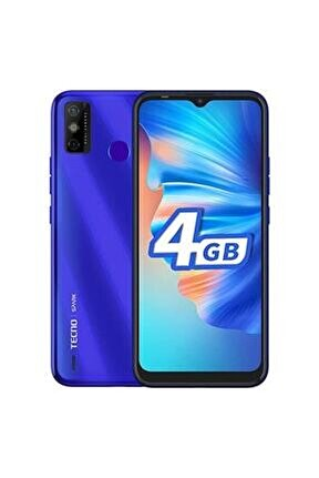 Spark 6 Go 4gb 64 Gb Aqua Blue Dual Sım