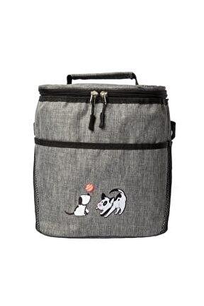 Dogs Gri Isı Yalıtımlı Çanta