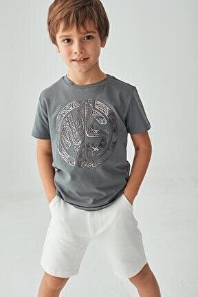 Erkek Çocuk Antrasit T-shirt