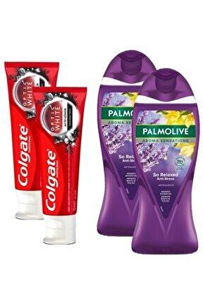 Aktif Kömür 50 Ml+palmolive Aroma Sensations Duş Jeli X 2 Adet