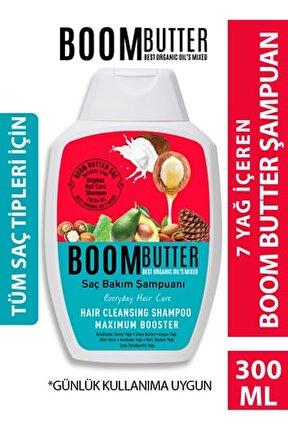 Boom Butter Komple Bakım Saç Şampuanı 300 Ml