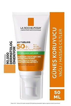 Anthelios Xl Spf 50+ Dry Touch Gel-Cream Anti-Shine 50 ml