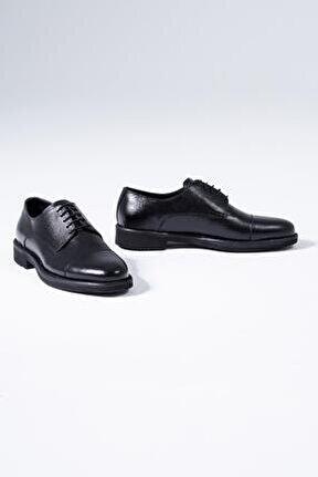 Hakiki Deri Erkek Klasik Ayakkabı Bağcıklı Derby