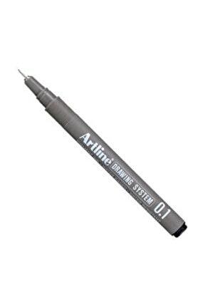 Drawing System Teknik Çizim Kalemi 0.1 mm
