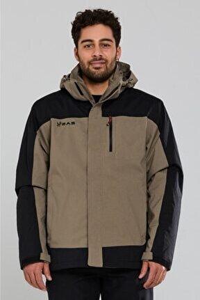 Elbruz 3in1 Erkek Kahverengi Mont