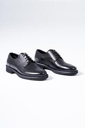 Hakiki Deri Erkek Klasik Ayakkabı Bağcıklı Oxford Ayakkabı