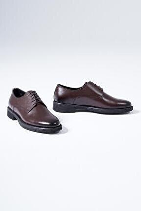 Hakiki Deri Erkek Klasik Ayakkabı Bağcıklı Casual Model