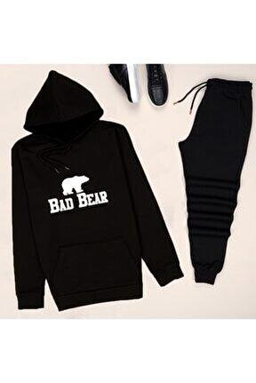 Siyah Badbear Eşofman Takımı