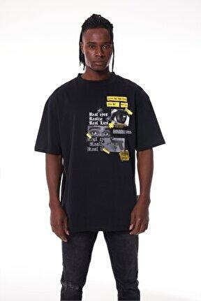 Real Eyes Black T-shirt