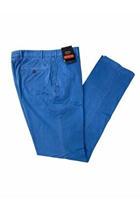 Erkek Mavi Kumaş Pantolon