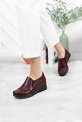 Hakiki Deri Kadın Günlük Ayakkabı Dc3002