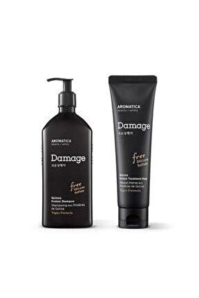 Aromatıca Quınoa Proteın Shampoo+quınoa Proteın Treatment Mask