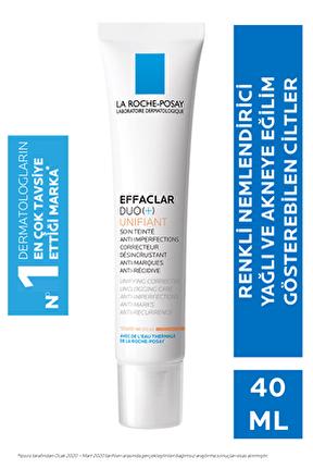 Effaclar Duo Unifiant -renkli Bakım Kremi Medium 40ml