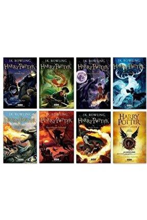 Harry Potter Set 8 Kitap - J. K. Rowling