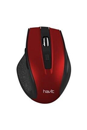 Ms73gt Kırmızı Kablosuz Mouse