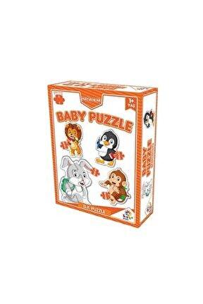 2 + 3 + 4 + 5 Parça Baby Puzzle: Çiftlik Hayvanları