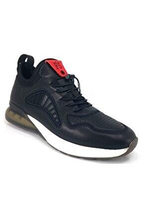 445 Günlük Erkek Sneaker Ayakkabı-siyah
