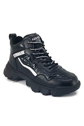 394 Günlük Sneaker Bayan Ayakkabı- Siyah