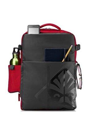 """Omen 4yj80aa 17.3 """" Siyah Kırmızı Notebook Sırt Çantası"""