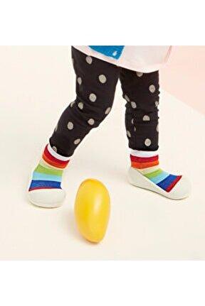 Rainbow Barefoot Çocuk Ayakkabısı - Beyaz