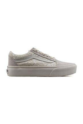Ua Old Skool Platform Kadın Günlük Ayakkabı VN0A3B3UXA01 Krem