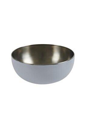 Çelik Kase - Beyaz/750 Ml