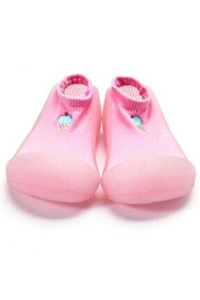 Cool Summer Barefoot Ilkadım Ayakkabısı - Pembe